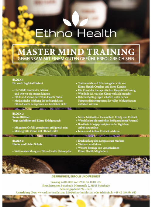 MASTER MIND TRAINING
